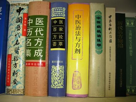 陳潮祖先生著の「中医病機治法学」および「中医治法と方剤」など
